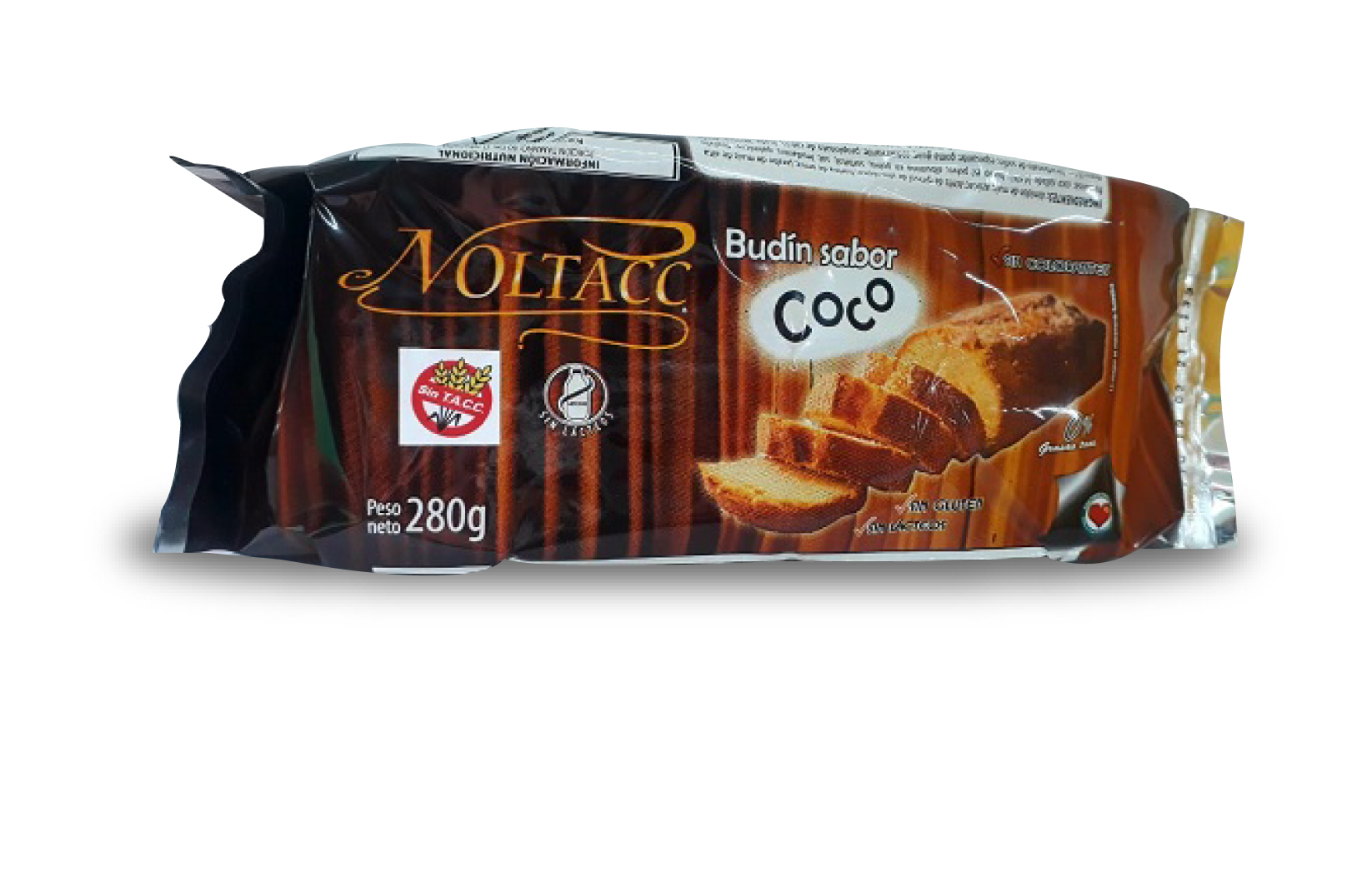 Budin sabor COCO 10 x 280 grs NOLTACC