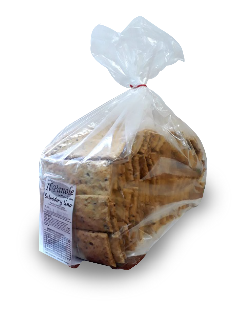 Galletas Salvado y Lino x 1 kg