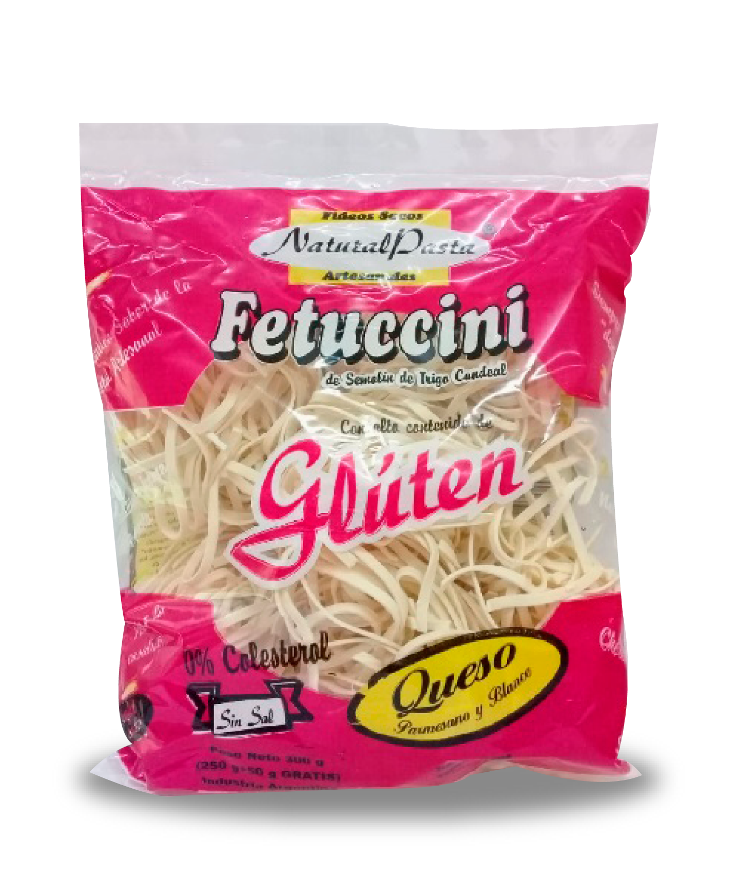Fetuccini QUESO PARMESANO PACK 12 x 300 grs